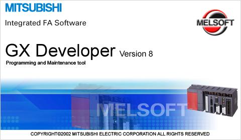 Phần mềm lập trình PLC Mitsubishi GX Developer 8.91