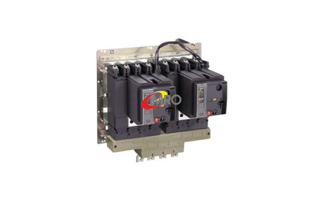 Bộ tự động chuyển đổi nguồn Schneider ATS NSX 3P 250A 70kA ATSNSX025H3FTM