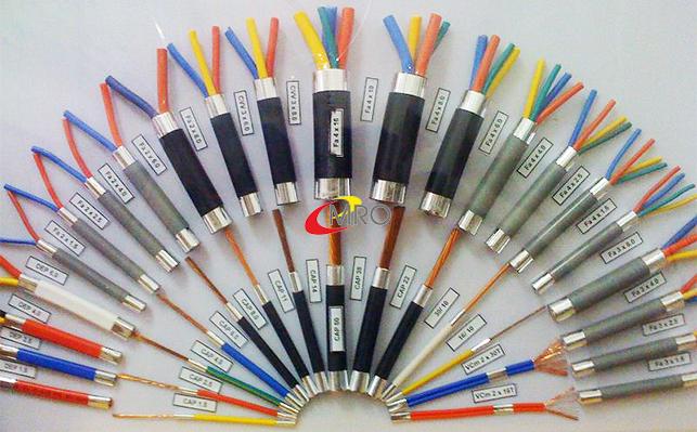 Cáp điện 4 lõi có giáp bảo vệ (cáp ngầm) 0.6/1 kV - Cu/XLPE/PVC/DSTA/PVC