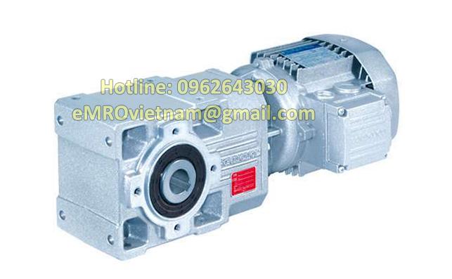 Động cơ giảm tốc bánh răng côn A 35, 4 poles, 230400V-50HZ