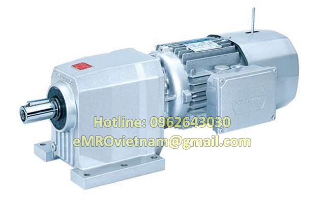 Động cơ giảm tốc trục thẳng C21, 4 poles 230400V-50Hz