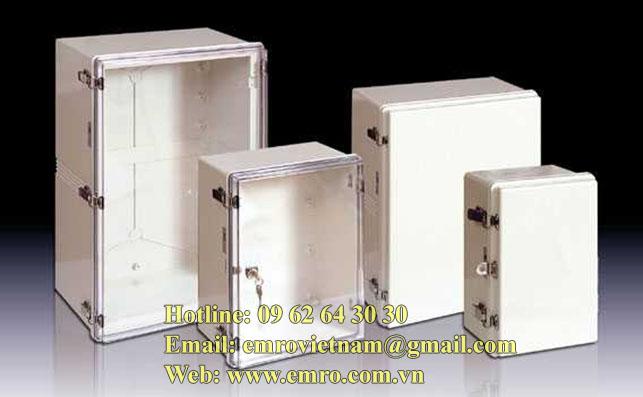Hộp đấu dây kín nước IP67 Switch box DS-AG-0811-S Hi Box
