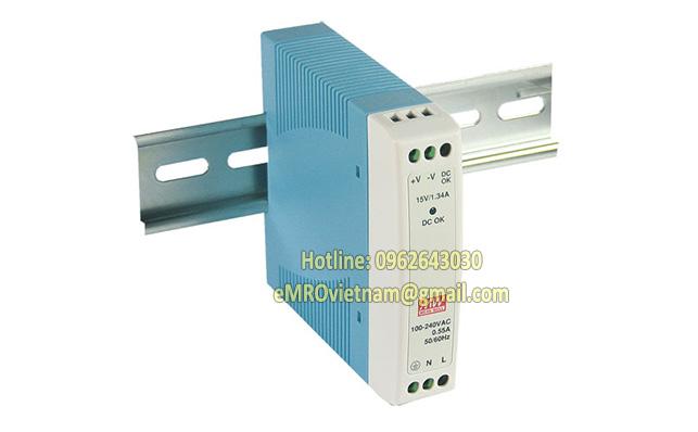 Nguồn Meanwell DR series 15~960W, Nguồn Meanwell DIN Rail lắp tủ điện
