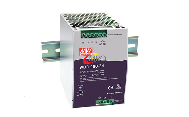 Nguồn Meanwell WDR series 120~480W