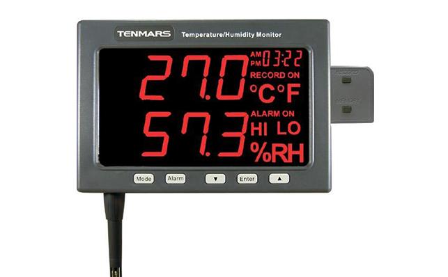 Đồng hồ đo nhiệt ẩm độ tự ghi Tenmars