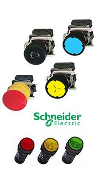 Hộp nút ấn Schneider
