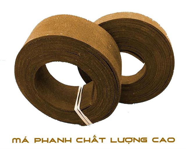 Phân phối má phanh Amiang
