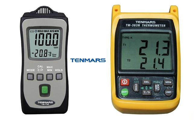 Đồng hồ đo nhiệt ẩm độ treo tường Tenmars